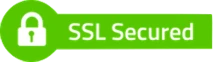 Security and encryption through 256-bit SSL certificates